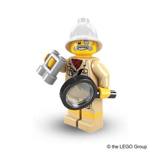 Lego-Minifigur Forscher Serie 2