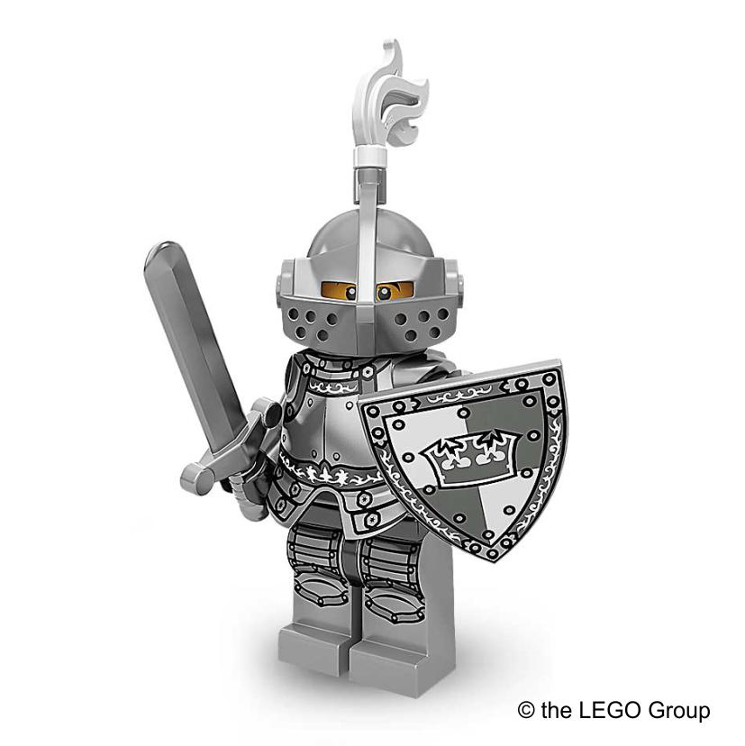 Lego-Minifigur Ritter Serie 9