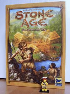 Stone Age mit Lego Minifigur als Startspieler