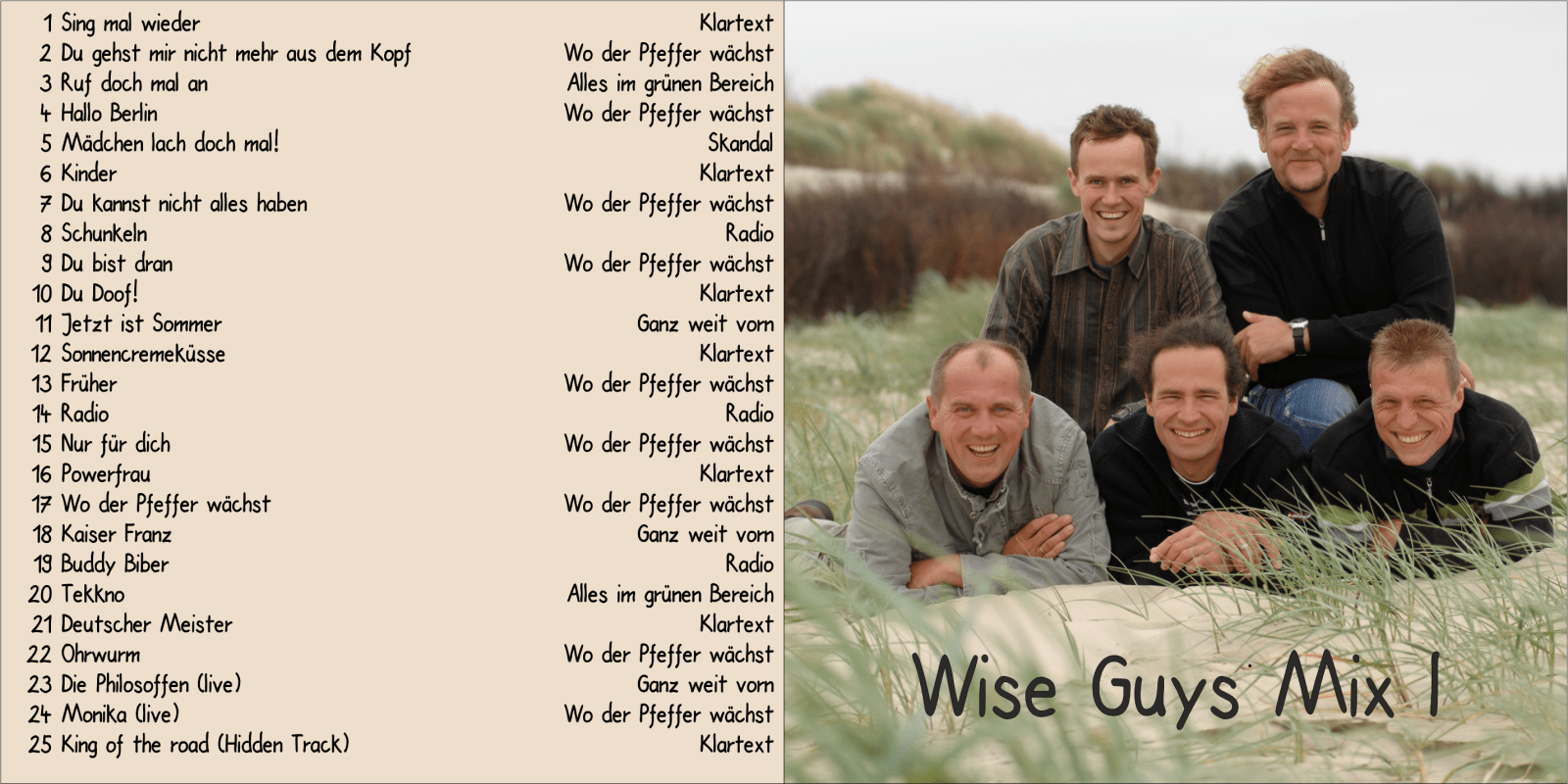Cover Wise Guys MixI
