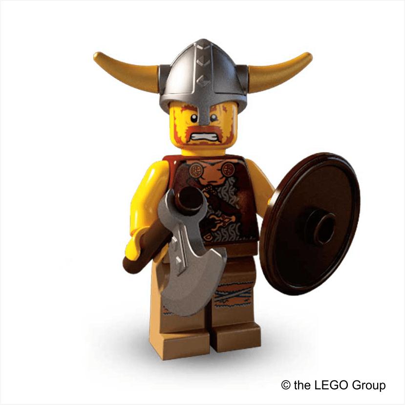 Lego Minifigur Wikinger Serie 4