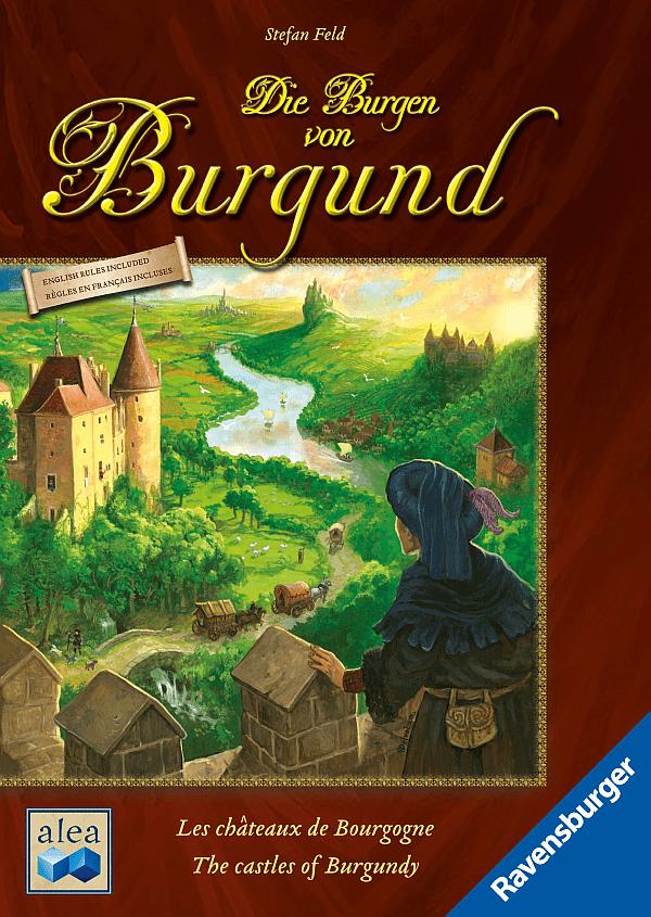 Die Burgen von Burgund von Stefan Feld