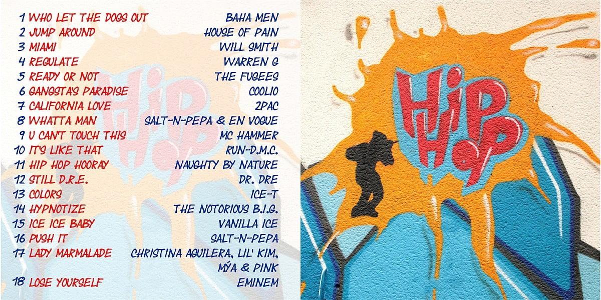 eigener Mix: Hip Hop Musik der 90er