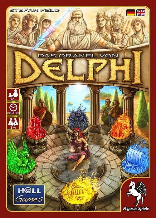 Das Orakel von Delphi - Cover der Box