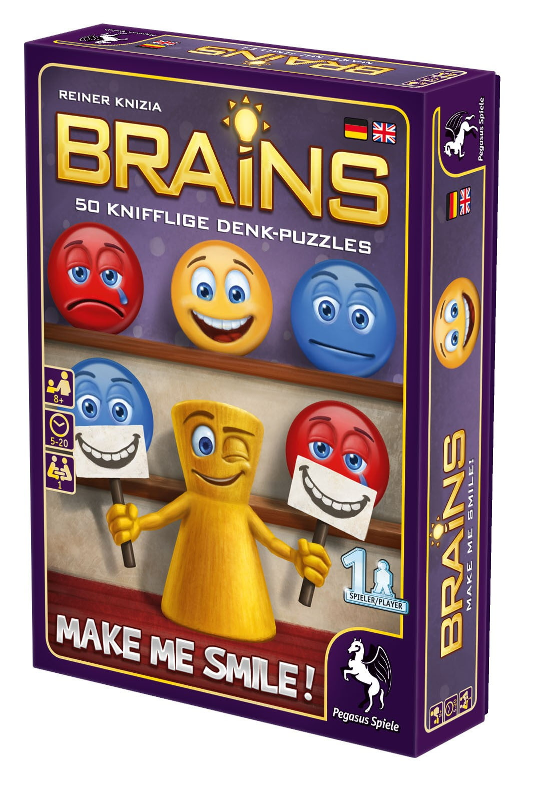 Brains - Make Me Smile - Box