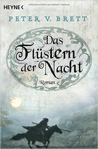 """""""Das Flüstern der Nacht"""" von Peter V. Brett"""
