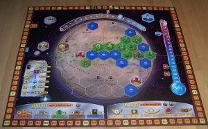 Terrafoming Mars - Spielplan