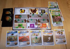 Terrafoming Mars - Spielertableau