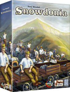 Snowdonia von Tony Boydell - erschienen bei Lookout Spiele