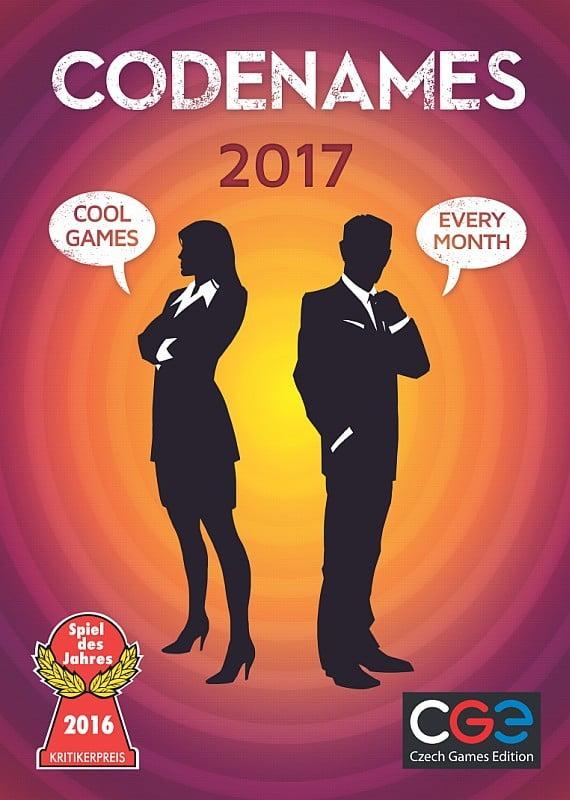 CGE Kalender 2017 - Codenames