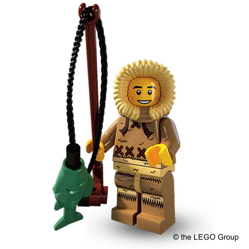 Lego-Minifigur Eskimo S5