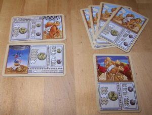 Camel Up Cards - Wettkarten