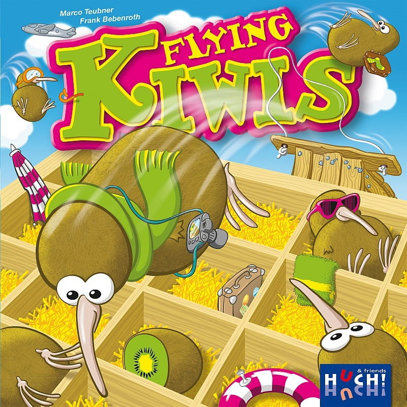 Flying Kiwis - Cover