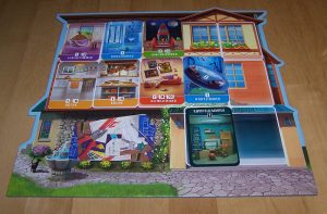 Mein Traumhaus - Spielertableau