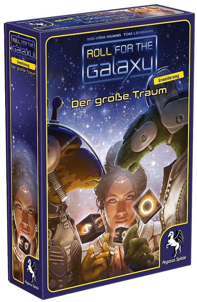 Roll for the Galaxy - Der grosse Traum - Cover