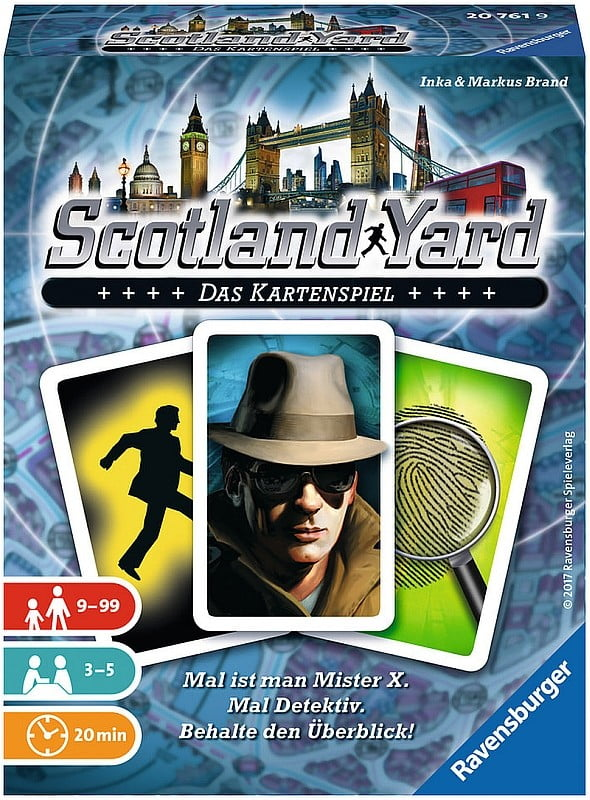 Scotland Yard Kartenspiel - Box