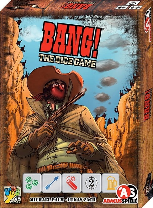 Bang The Dice Game - Box
