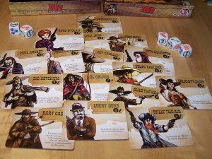 Bang The Dice Game - Charaktere