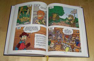 Ritter Spiele-Comic - Beispiel