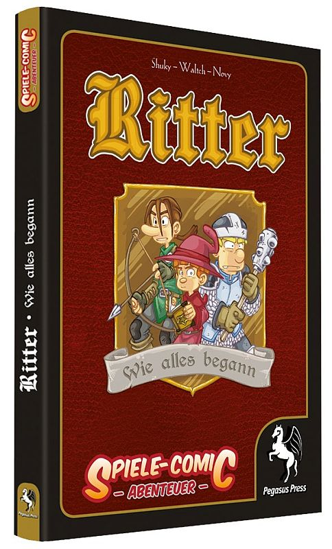Ritter Spiele-Comic - Cover