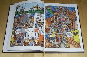 Ritter Spiele-Comic - Start