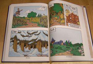 Ritter Spiele-Comic - Wegeauswahl