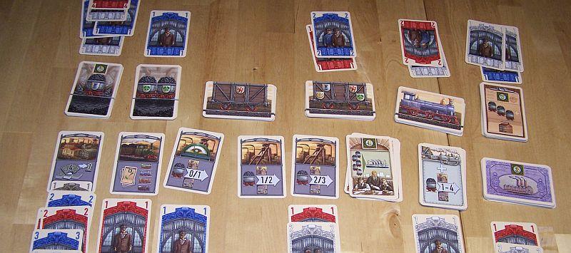 Glück Auf - Das große Kartenspiel - Auslage