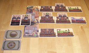 Glück Auf - Das große Kartenspiel - Tableau