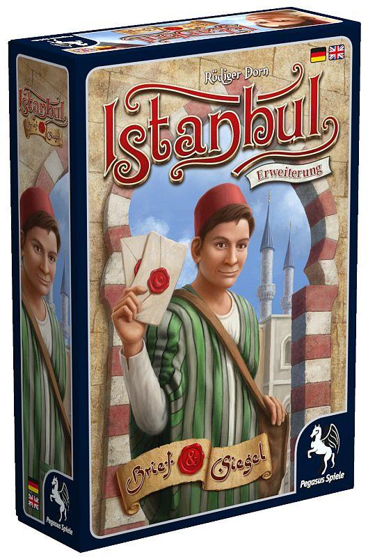 Istanbul - Brief & Siegel - Box 3D
