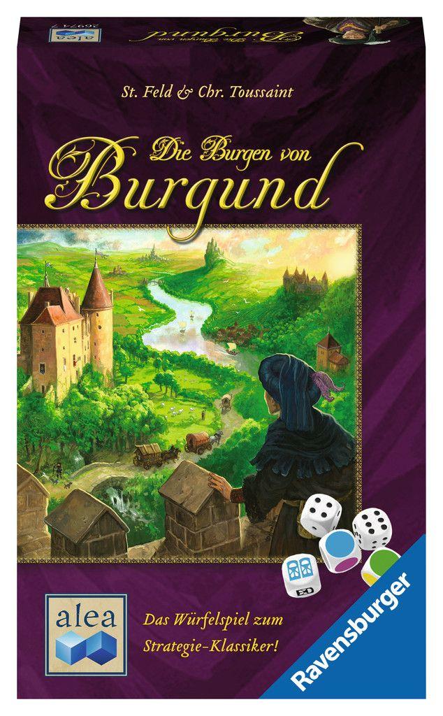 Die Burgen von Burgund Würfelspiel - Box