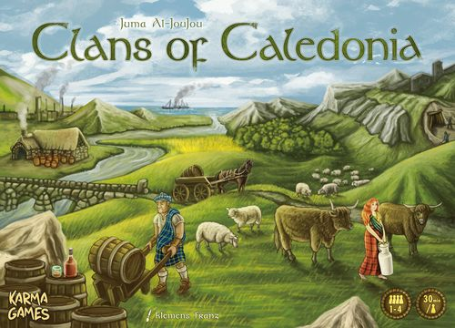 Clans of Caledonia - Box