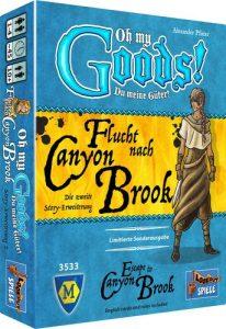 Flucht nach Canyon Brook