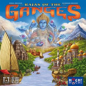 Rajas of the Ganges - Box