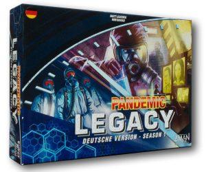 Pandemic Legacy Season 1 - Box