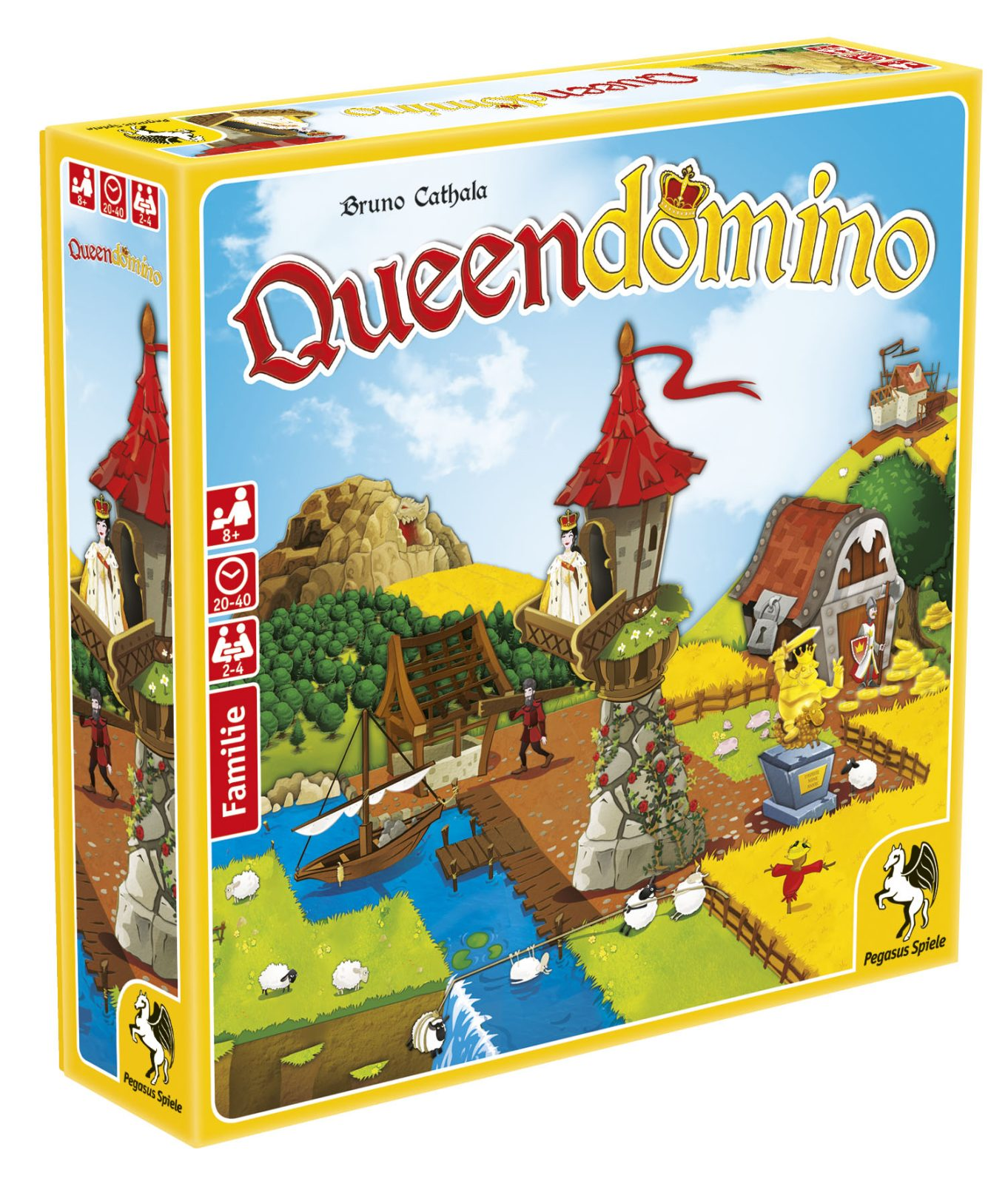 Queendomino - Box schräg
