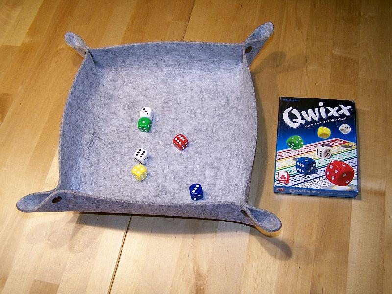 Würfelschale Qwix
