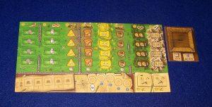 Clans of Caledonia - leeres Spielertableau
