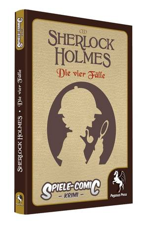 Spiele Comic Holmes - Die vier Fälle - Cover