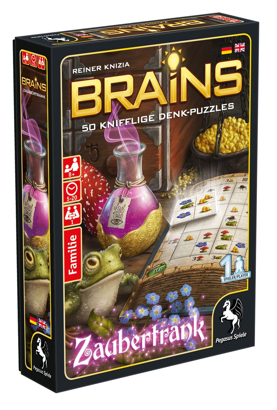 Brains - Zaubertrank - Box