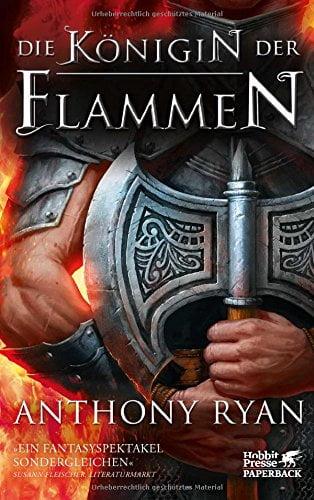 Die Königin der Flammen - Cover