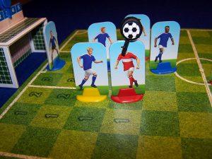 Fussball-Duell - Zweikampf