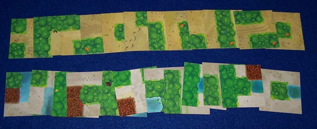 Woodlands - Wegekarten