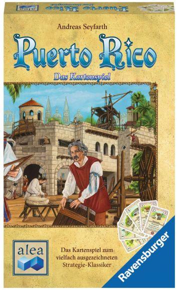 Puerto Rico – Das Kartenspiel - Box