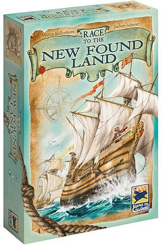Race to the New Found Land - Box
