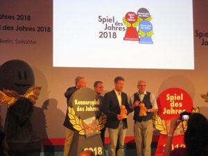 Verleihung zum Spiel des Jahres 2018 - Sieger