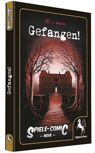 Spiele Comic Noir - Gefangen - Cover