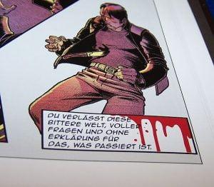 Spiele Comic Noir - Gefangen - Tot