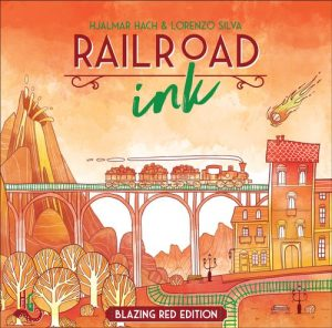 Railroad Ink Red - Cover