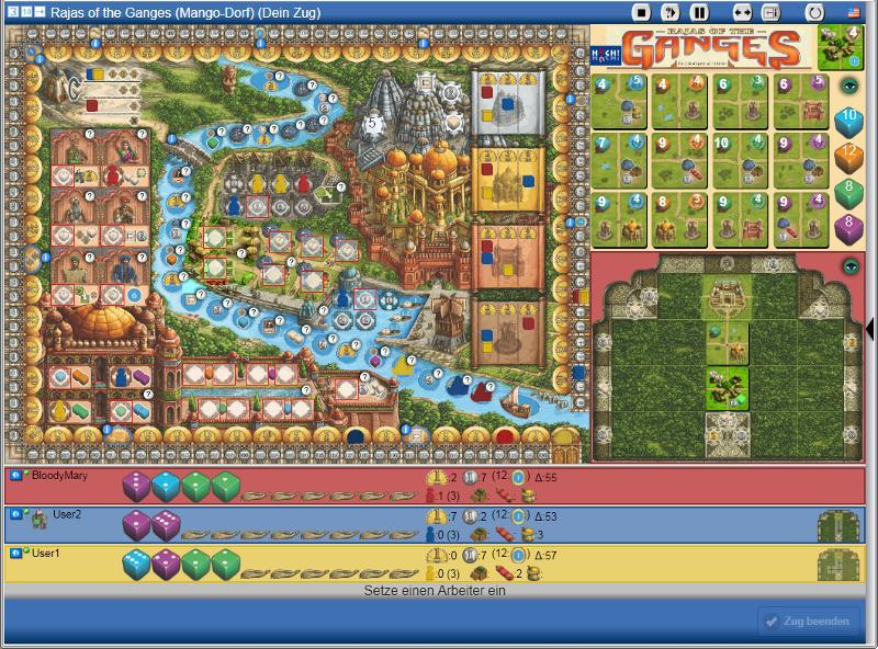 Rajas of the Ganges - Screenshot