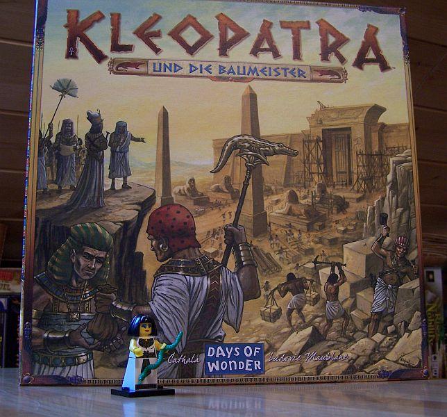 Kleopatra und die Baumeister - Lego-Startfigur